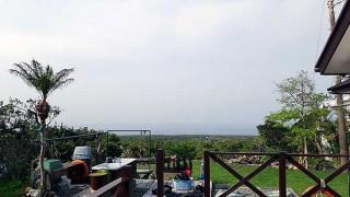空には雲は広がるものの空気も乾いて乾燥していた4/28の八丈島