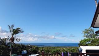 予報も変わって青空が続いていた5/2の八丈島