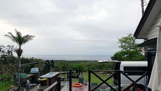 曇りの割には湿度は低くもあった5/4の八丈島