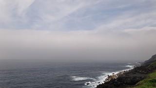北を目指した台風7号