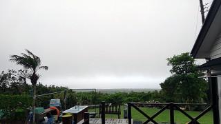 なんだかすでに梅雨っぽい天気となっていた5/19の八丈島
