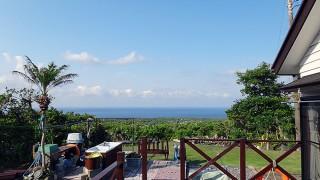風は涼しく強くもあるが日差しは強くもあった5/28の八丈島