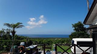 朝晩少し湿度は上がるが日中はカラッと暑かった5/30の八丈島