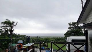 湿度も上がり蒸し暑い風になってきていた7/2の八丈島