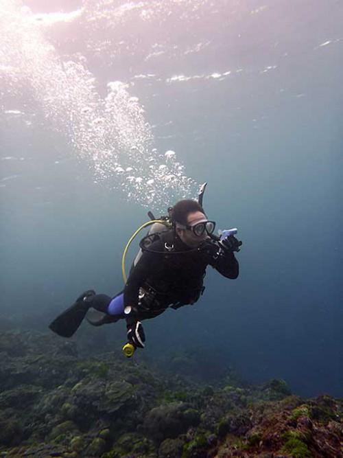 底土の海でコンパスナビゲーション