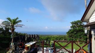 風は弱くて日差しは強く暑い陽気が続いていた7/12の八丈島