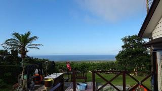 気持ちの良い青空が広がり暑さも続いていた7/14の八丈島