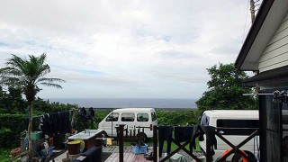 厚めの雲も広がり若干蒸し暑くもあった7/19の八丈島