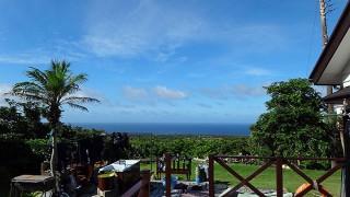 時間と共に日差しも強まり夏の暑さが続いていた7/26の八丈島