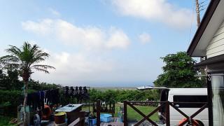 陽ざしも強く暑さも厳しくなっていた7/29の八丈島