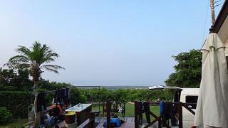 穏やかな暑さも続き日差しも強かった8/1の八丈島