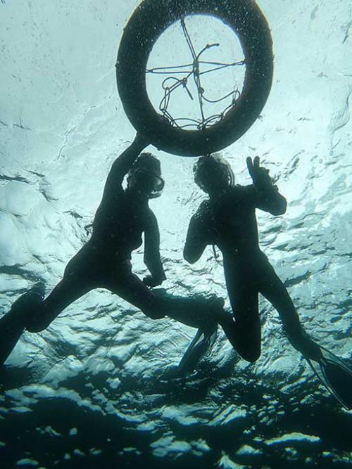 底土の海でシュノーケリング