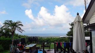風も弱くて穏やかで暑くもなっていた8/21の八丈島