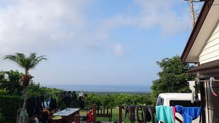気持ちのよい青空も広がり穏やかな陽気となっていた9/5の八丈島