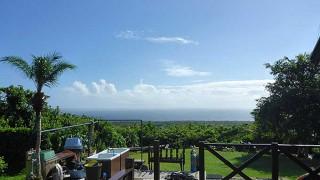 時間とともに青空広がり風も収まってきていた9/9の八丈島