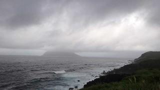 台風17号は北に向かいだし18号は日本海へ