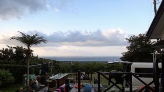 陽ざしはあるが風も強くて涼しい一日となっていた9/30の八丈島