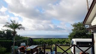 風は弱くて日差しもあって気温も上がっていた10/28の八丈島