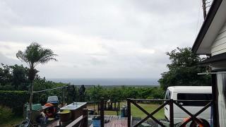 雨風強まり荒れた天気となっていた11/2の八丈島
