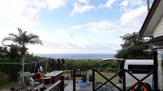 風は涼しくカラッと爽やかな天気が続いていた11/4の八丈島