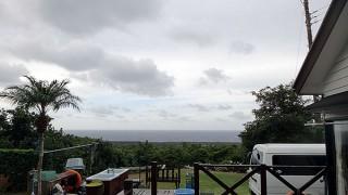 南寄りの風も吹き暖かくもなっていた11/9の八丈島