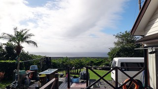 陽ざしはあるが風は冷たくなっていた11/26の八丈島