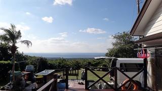 空気も乾いて爽やかな青空も広がっていた12/1の八丈島