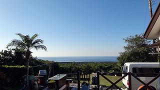 青空続き風も止みとっても穏やかで暖かな一日となっていた12/2の八丈島