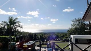 青空広がり爽やかな陽気となっていた12/9の八丈島