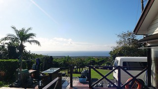 久しぶりに青空も広がり暖かくもなっていた12/15の八丈島