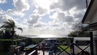 日差しもあって日中は若干暖かさもあった12/19の八丈島