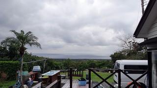 次第に雨は上がって空も明るくはなってきていた12/24の八丈島