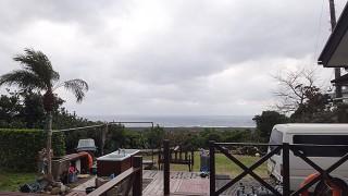 寒さ厳しく風も強まり荒れた天気が続いていた1/19の八丈島