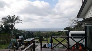 雲は多めだが南風が暖かくもあった3/6の八丈島