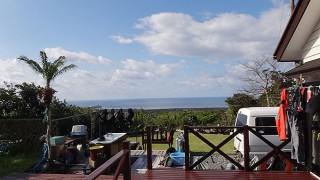 すっかり空は晴れてきて爽やかで暖かな一日となっていた3/22の八丈島