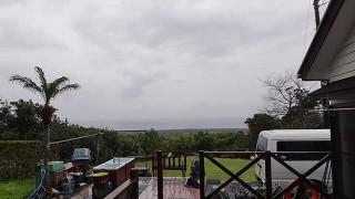 冷たい雨は降りやまず時間とともに気温も下がってきていた3/24の八丈島