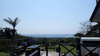 空気も乾いてカラッと爽やかな青空も広がっていた3/31の八丈島