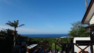 乾いた涼しい空気となって爽やかな青空が広がっていた5/12の八丈島