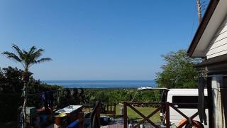 風も弱まり青空続き暑いくらいの陽気となっていた5/16の八丈島