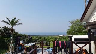 青空も広がり気温も上がり暑くなってきていた5/23の八丈島