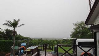 風が変わると涼しくもなってきていた5/27の八丈島