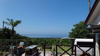 爽やかな青空も広がり暑くもなっていた7/6の八丈島