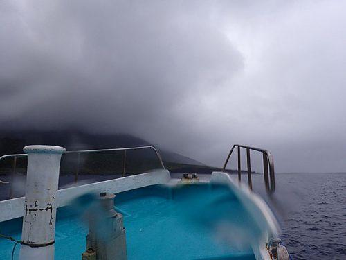 午前中の東側ボート