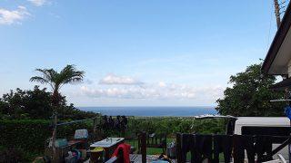 夏らしからぬ涼しい風も吹いていた7/23の八丈島