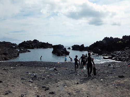 朝のヤケンヶ浜