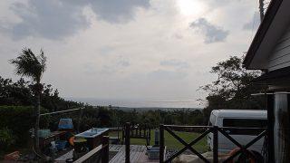 風は強いが日中は暖かだった12/6の八丈島