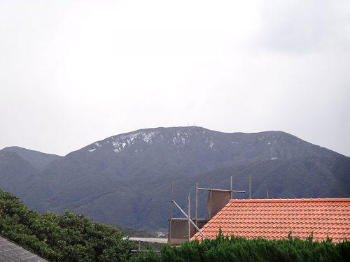 午前中の三原山