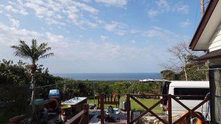 青空続き日差しも強くて暑いくらいの陽気となってた4/16の八丈島