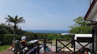 青空広がり日差しは強く暑さが気持ち良い一日となっていた5/15の八丈島