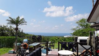 スッキリとした青空も続き暑いくらいの陽気となっていた5/21の八丈島